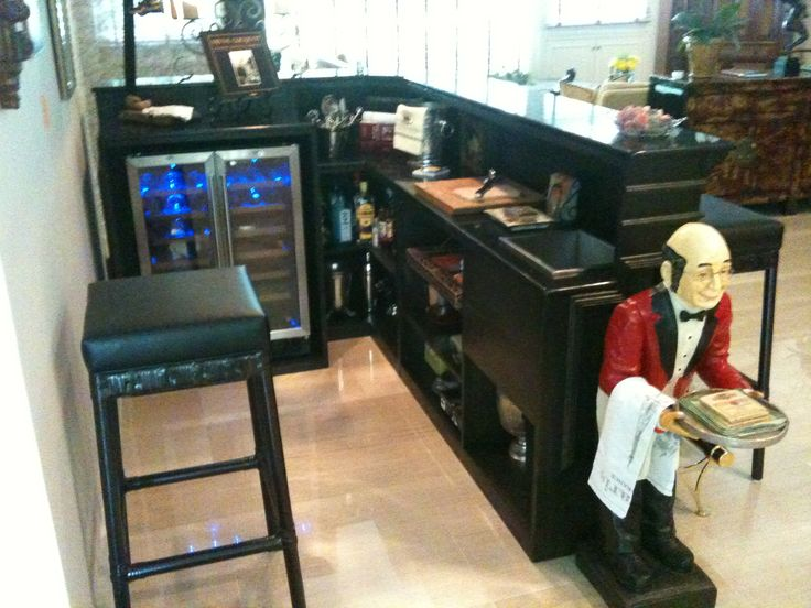L Shape Mini Bar Perfect Dimensions For Basement Bar Idea