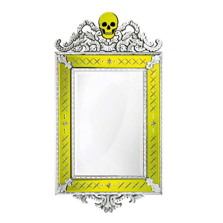 Buy Memento Mori // Mirror by Arte Veneziana - Made-to-Order designer Accessories from Dering Hall's collection of Contemporary Mirrors.