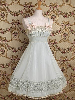 could make for a really cute nightgown, without the petticoat