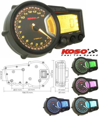 コーソー RX-2 GPスタイルスピードメーター