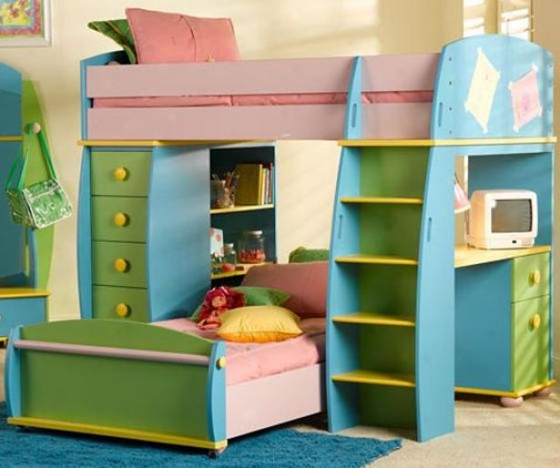 Find This Pin And More On Little Girls Room By Ldmt81 Furniture A Collection Of Cool Bunk Beds