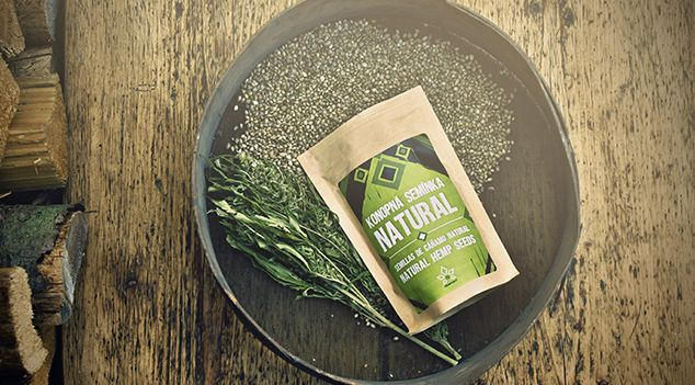 Natural hemp seeds  .. you can eat them, roast them, sprout them .. all you need is hemp!