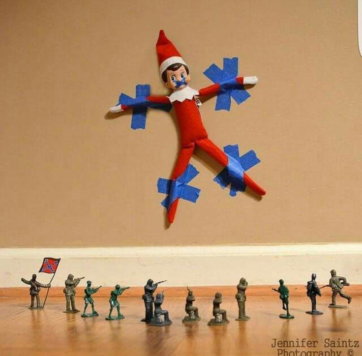 Mejores 14 imágenes de Elf on the Shelf en Pinterest   Estantería ...