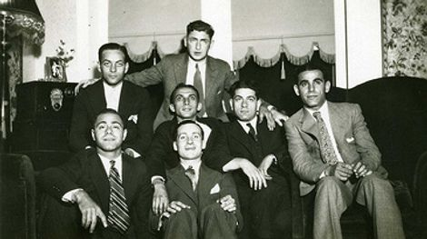 Art of Manliness: Throw a Bachelor party! vintage bachelors party