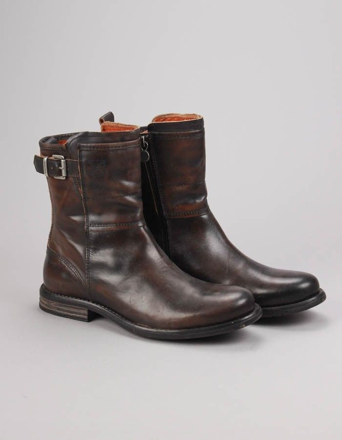 Sneaky Steve Charcoal Crowley Boots | Accent Clothing