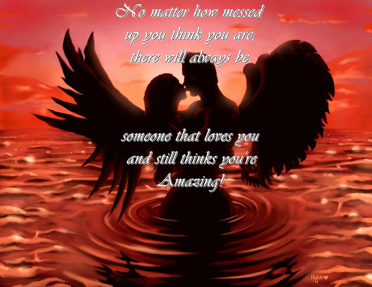 Angel And Demon Love Quotes: 37 Best Fallen Angels Images On Pinterest