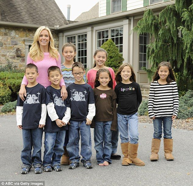 Now: Kate does much of the parenting and brings the children up in a mansion in…