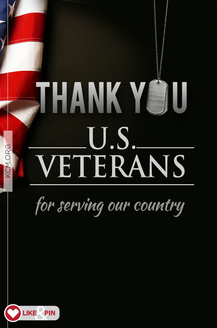 Freedom is not free! Thank you to our U.S. Veterans for serving our country!