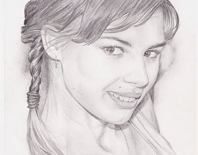 """Check out new work on my @Behance portfolio: """"Traditional Art, Portrait, Girl"""" http://be.net/gallery/52709967/Traditional-Art-Portrait-Girl"""
