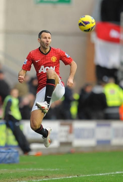 Ryan #Giggs @MUFCofficial My Ryans favorite footballer!