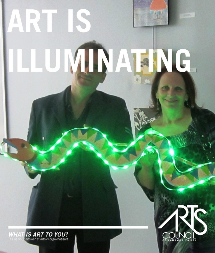Art is central to the curriculum at Mountaineer Montessori School.  Our instructors  David Pushkin and Sharon Spencer are featured in this poster.