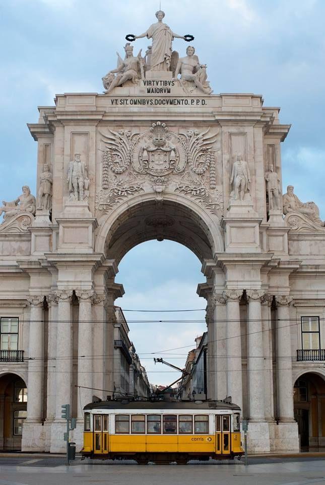 Arco da Rua Augusta - Lisboa  - Portugal