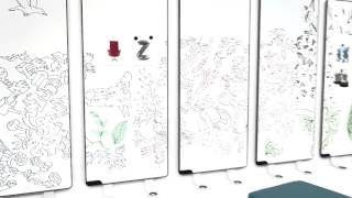 Nuestro partner Abstracta nos presenta Sketchalot, pizarra magnética / de aluminio. El primer y único panel de pizarra modular del mundo, que no requiere fijación permanente a las paredes o superficies de cristal.  Diseñado por: Eelco Voogd