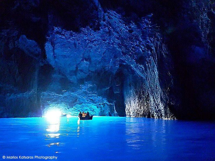 Blue Cave-Kastellorizo-Greece