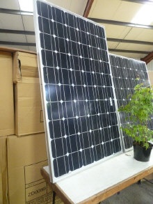 4 x Sharp solar panels RRP £800  Sold For: £350