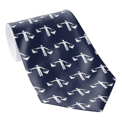 Your Initial In Flag Semaphore Neck Tie - pattern sample design template diy cyo customize