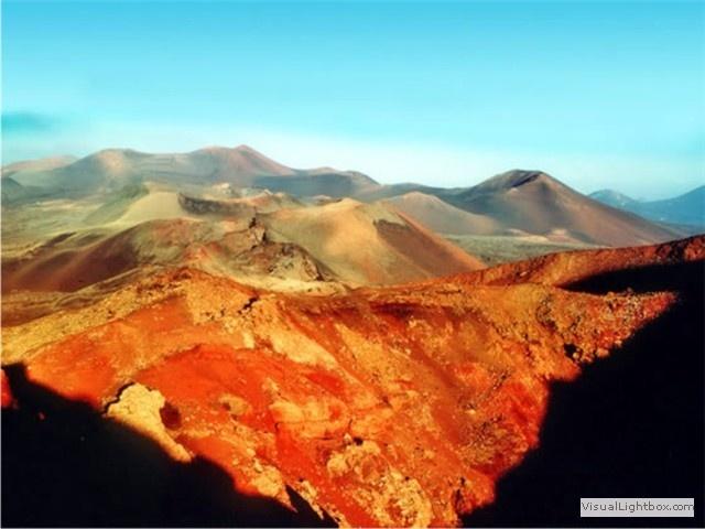 las montañas de fuego