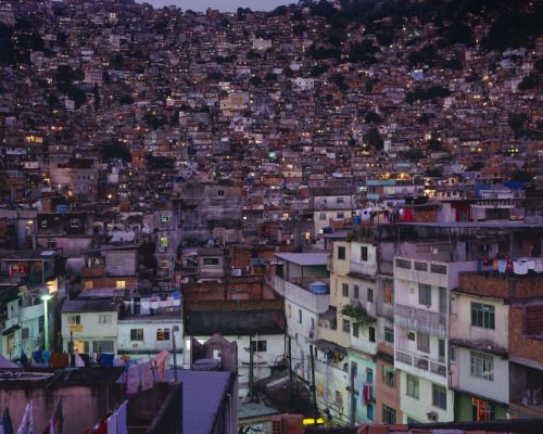 delusionalera:  90scream:  The size of Rio's favelas is something my eyes couldn't get to believe.  Switch out the word favelas with poverty