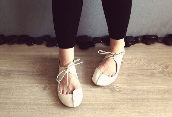 Clementine  - Nubuck Bone Color FREE SHIPPING Handmade Leather Shoes %20 off Summer Sale