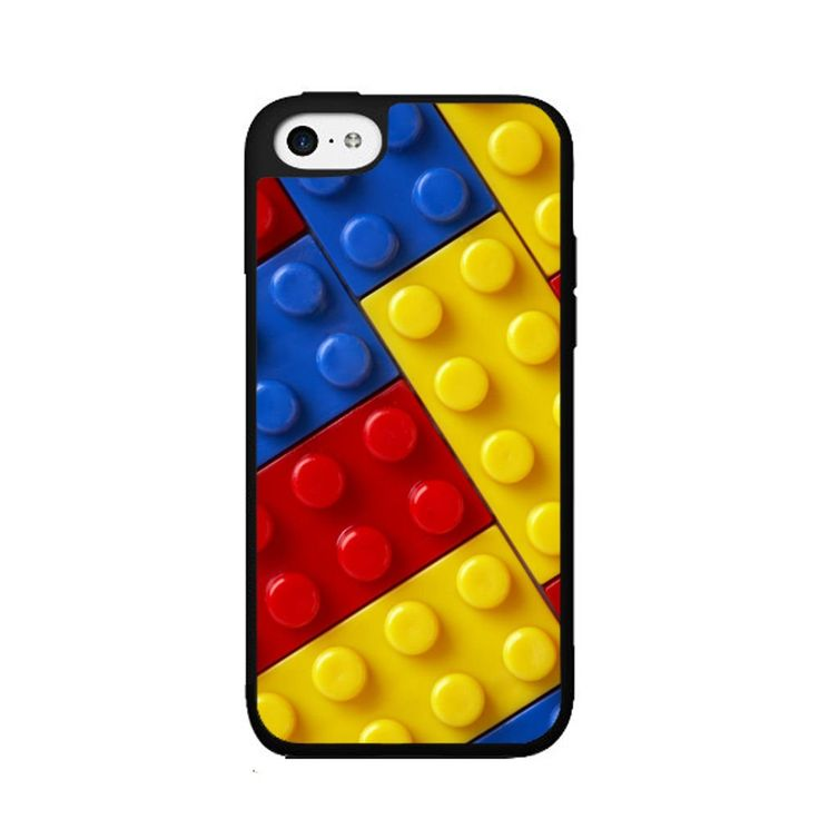 Blue Red and Yellow Plastic Building Block - Phone Case Back Cover (iPhone 4 4s - TPU Rubber Silicone) includes BleuReign(TM) Cloth and Warranty Label. COMPATIBILITY: It is important to note that this case will ONLY FIT the Apple iPhone 4 4s Smartphone. Case will fit like a glove. COLOR: This case comes in a high quality color that will last the life of your phone. This is NOT a decal, skin or sticker. Our cases will not peel, fade or crack. We press the image onto a metal plate using the...