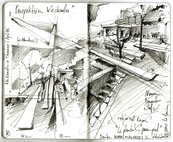 Die besten 25+ Landschaftsarchitektur Zeichnung Ideen auf ...