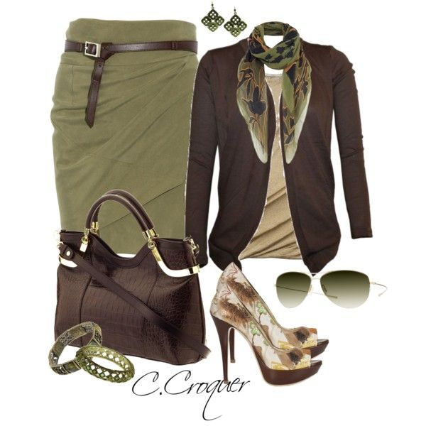 Smart Casual by ccroquer on Polyvore featuring Michael Kors, KaufmanFranco, 1928, Jigsaw, Oliver Peoples and Milly
