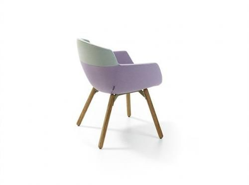 mood by ren holten design a bucket seat with five different bases four different styles of upholstery and a great many colour and