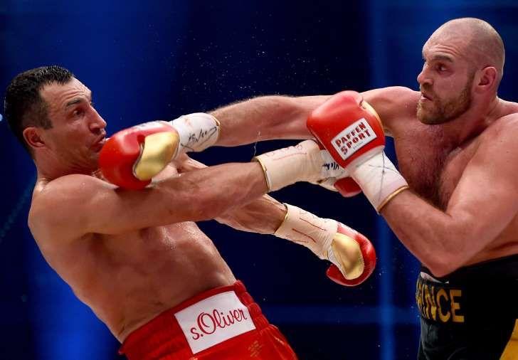 Fury bringt Klitschko um Olympia-Comeback