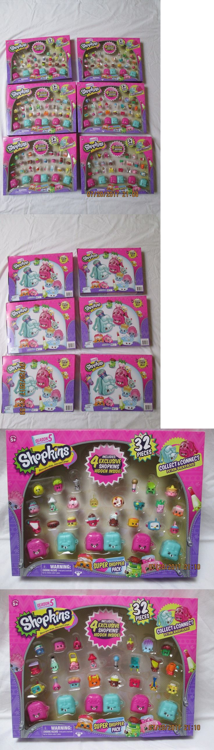 TV Movie and Character Toys 51031: Shopkins Season 5 Super Shopper Pack 192 Pieces - Complete Set Of 6 Packs -> BUY IT NOW ONLY: $189.99 on eBay!