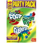 Betty Crocker�� Fruit by the Foot��/Fruit Roll-Ups��/Fruit Gushers�� Fruit Flavored Snacks Party Pack 24 ct. Pouches