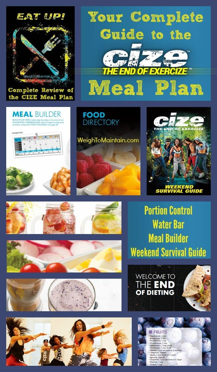 Check out the complete review of the Cize Meal Plan at WeighToMaintain.com. You'll learn how to determine your calorie level, all about the portion control system, how to plan meals and even how to deal with a night out! And, is the Cize plan compatible with the 21 Day Fix? Find out.