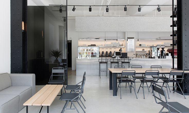 Space design for Ezer coffee