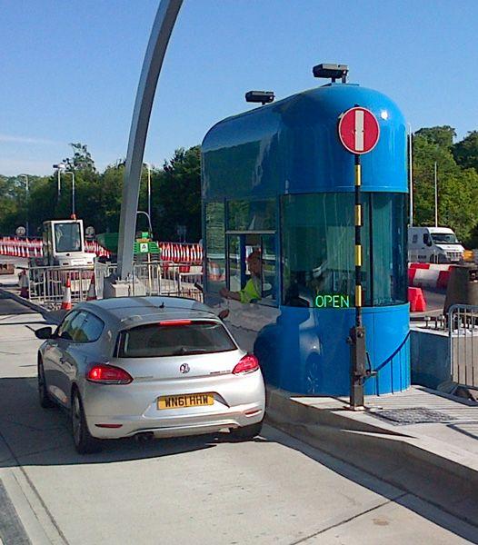 Custom designed toll booths. #ModularBuildings #GlasdonUK #TollBooth #CustomDesign