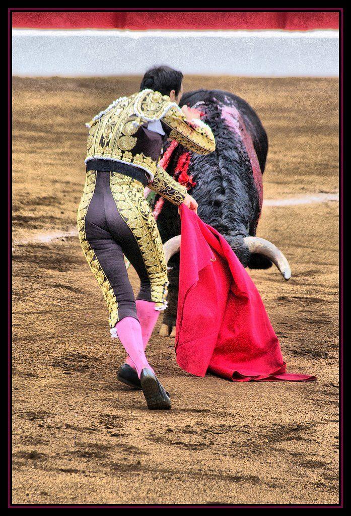 Ejecutar la suerte suprema; así se le conoce en la tauromaquia aunque de suerte no tenga nada y de técnica y elegancia tenga mucho. Olé