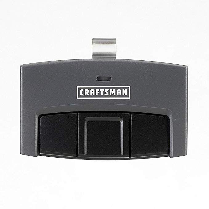 Craftsman 30498 3 Function Visor Remote Control Garage Door Opener Garage Door Remote Craftsman Garage Door Opener Garage Door Opener Remote