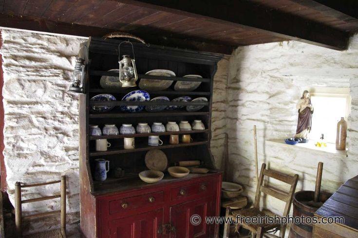 Tradional Irish Cottage Kitchen Dresser