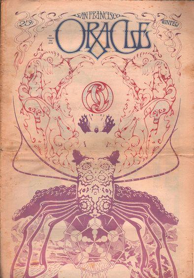 Oracle San Francisco vol 1 no 7 February 1967 Rick Griffin Paul Kagan