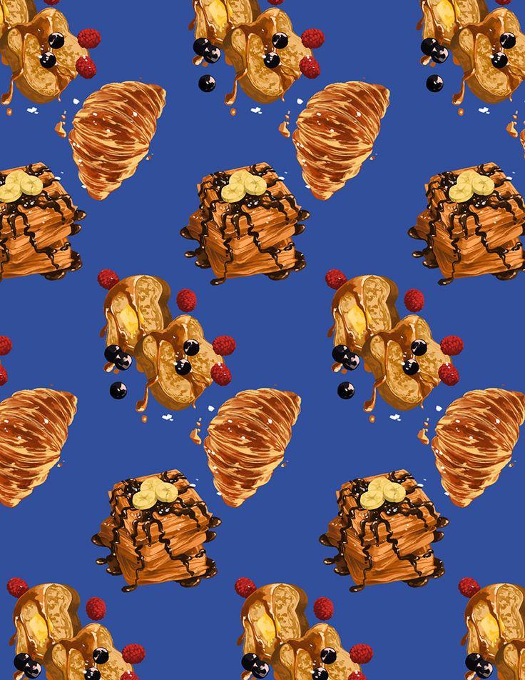 Los geniales (¿y comestibles?) patrones diseñados e ilustrados por Monica Esquivel. — MONICA ESQUIVEL