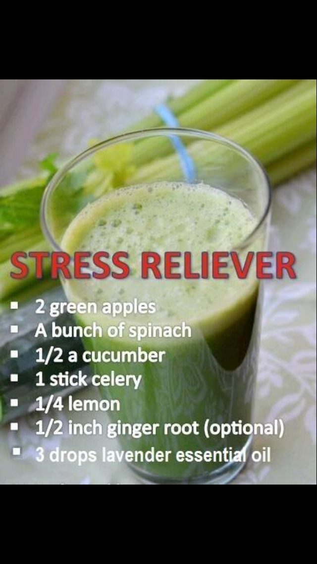 Stress reliever smoothyStress Free, Green Juice, Juice Recipe, Smoothie, Healthy Happy Life, Relievers Stress, Stress Relief, Drinks, Stress Relievers