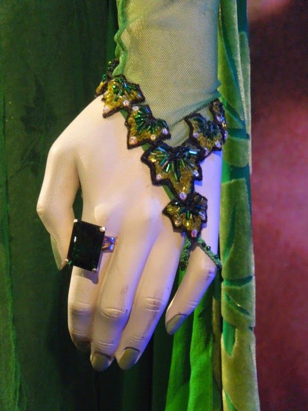 Batman & Robin Poison Ivy cuff costume detail