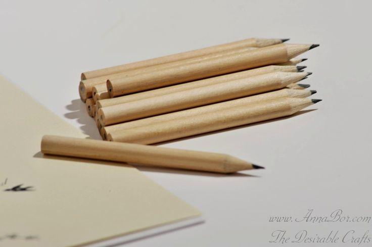 Små Pennor till bröllopsbingo och bröllopsspel 8,5 cm H