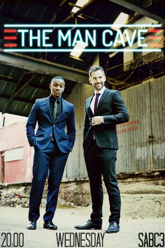 #ManCaveSA is here!  Rally family, friends & acquaintances for the premiere episode of a sure hit,starring Janez Vermeiren (official) and Lunga Shabalala.  It is starting tonight at 8pm on SABC 3!