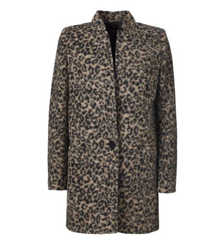 Florenzi Wool-Rich Leopard Coat - Outerwear | InWear