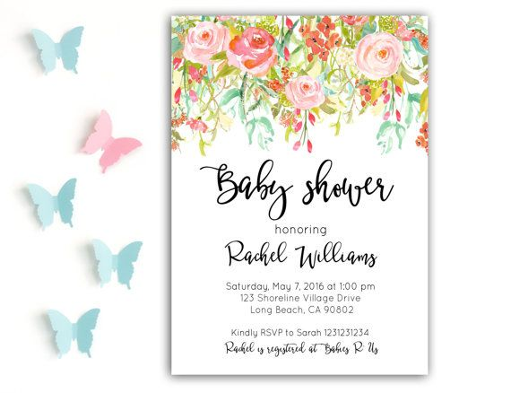 118 best convites images on Pinterest Invitations, Ideas and Angel - baby shower invitation letter