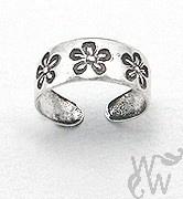 @WomenWantsNL #teenring #zilver #bloem #flower