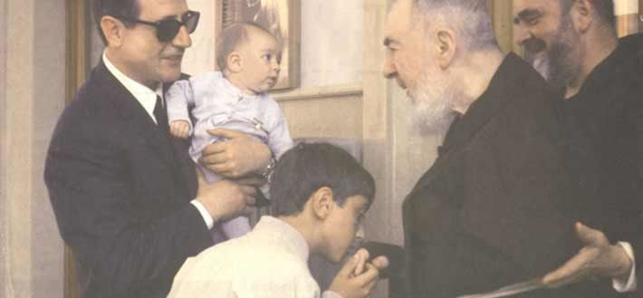 """Unite yourself to my prayers."" Here you will find the Prayers of Padre Pio, including the Novena to the Sacred Heart of Jesus which he prayed every day."