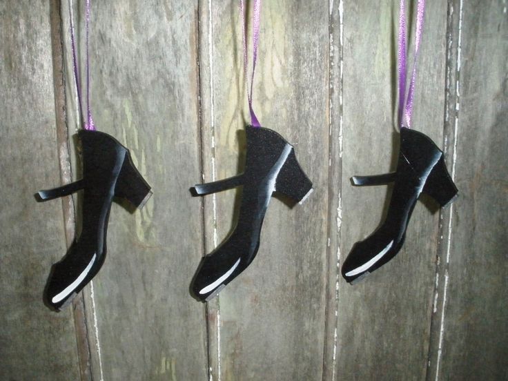 Tap Shoes Decoration by LeeArt on Etsy