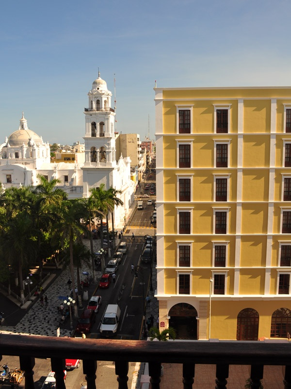 Hotel Veracruz balcony view♥