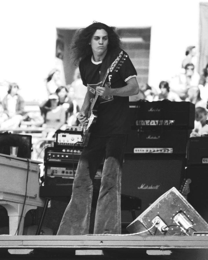 Image detail for -Allen Collins In Oakland 1975 Photograph by Ben Upham - Allen Collins ...