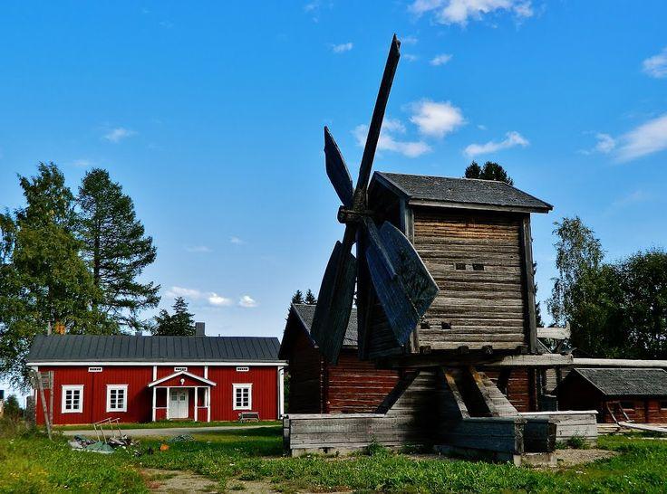 Ähtärin Kotiseutumuseo. Local history museum Ähtäri, Finland.